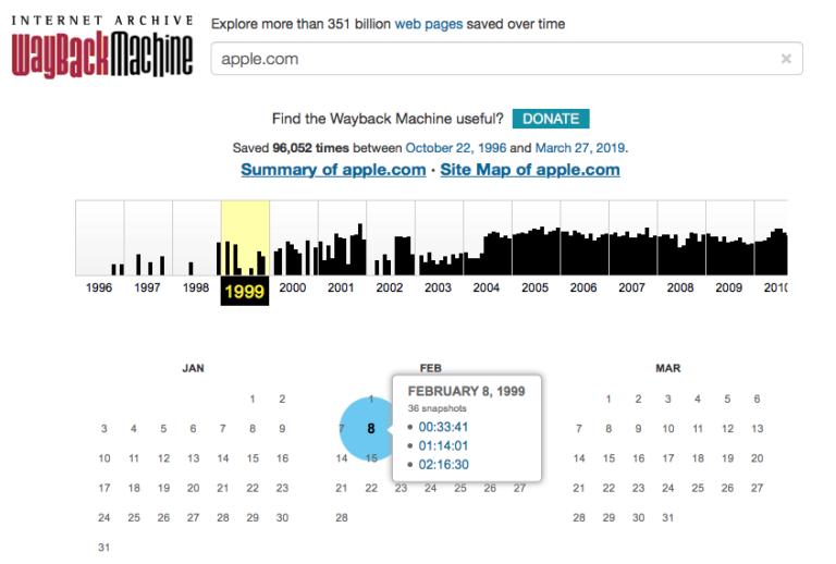 Los 9 principales sitios alternativos de Wayback Machine (sitios de archivos web)